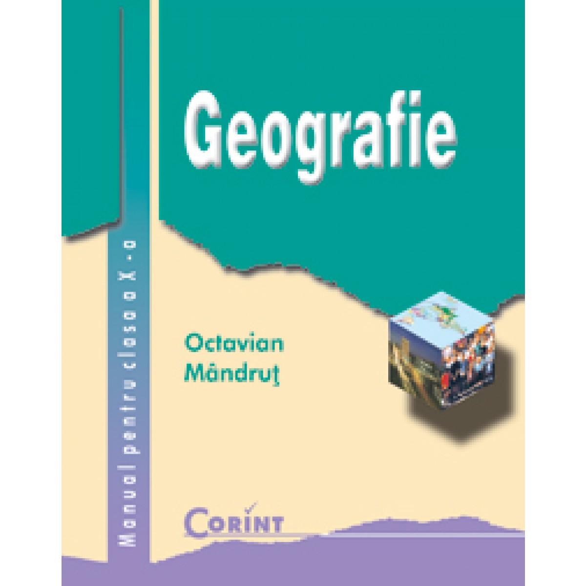 geografie manual pentru clasa a x a editura corint rh edituracorint ro Facultatea De Geografie Iasi Geografie Fizica Generala
