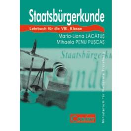 Cultură civică (lb. germană) - Manual pentru clasa a VIII-a
