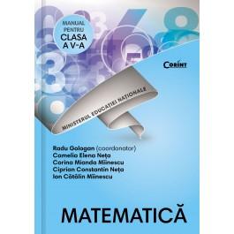 Matematică - Manual pentru clasa a V-a
