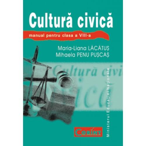 Cultură civică - Manual pentru clasa a VIII-a