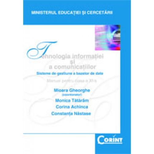 Tehnologia informaţiei şi a comunicaţiilor - Manual pentru clasa a XI-a