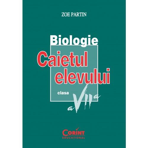 Biologie. Caietul elevului clasa a VII-a