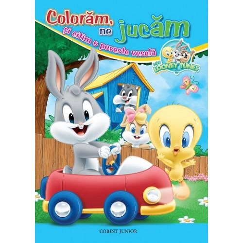 Baby Looney Tunes. Colorăm, ne jucăm şi citim o poveste veselă