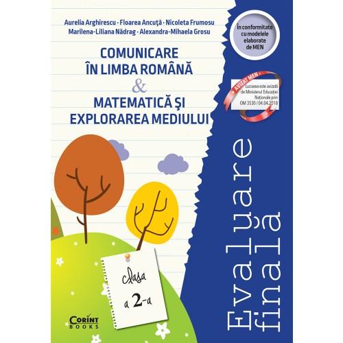 Evaluare finală clasa a II-a. Comunicare în limba română şi Matematică şi explorarea mediului / Arghirescu