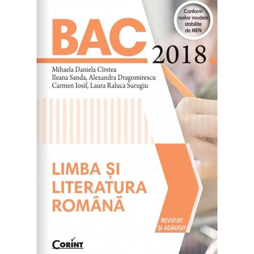 Bacalaureat 2018 - Limba și literatura română