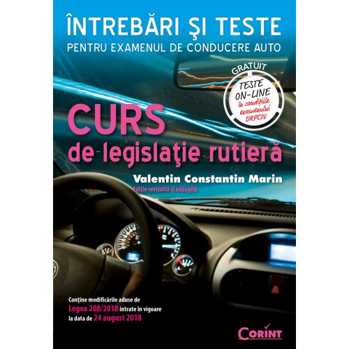 Curs de legislaţie rutieră. Întrebări şi teste