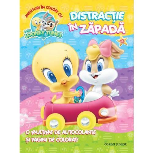 Aventuri în culori cu Baby Looney Tunes. Distracţie în zăpadă