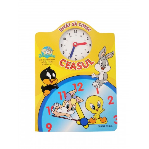 Învăţ să citesc ceasul cu Baby Looney Tunes