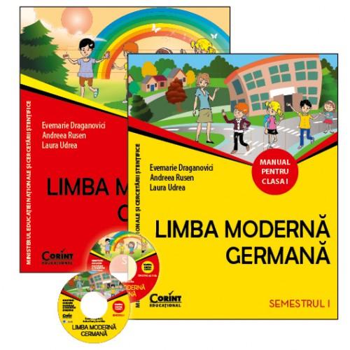 Limba moderna germana. Manual pentru clasa I (sem.I şi al II-lea)