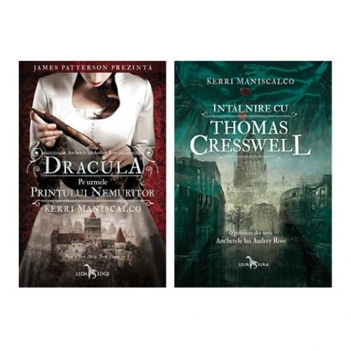 PACHET Anchetele lui Audrey Rose vol. 2 Dracula pe urmele prințului moștenitor + booklet