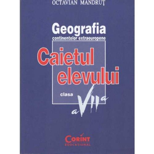 CAIET ELEV CLS. A VII-A GEOGRAFIE