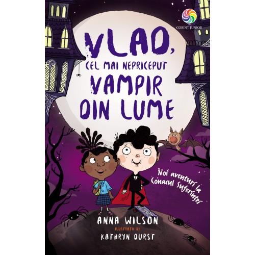 Vlad, cel mai nepriceput vampir din lume: noi aventuri la Conacul Suferinței