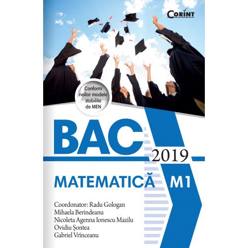 Bacalaureat 2019 - Matematică