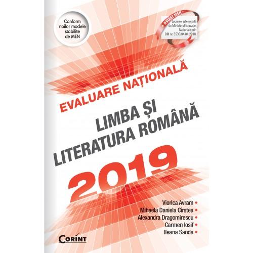 Evaluare naţională 2019. Limba şi literatura română