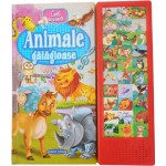 Animale gălăgioase. Carte cu sunete