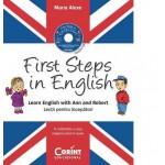 First Steps in English. Lecţii pentru începători (conţine CD audio)