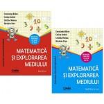 Matematică şi explorarea mediului - Manual pentru clasa a II-a, 2 vol.