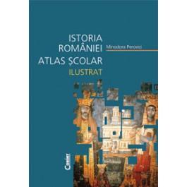 ISTORIA ROMANIEI ATLAS SCOLAR ILUSTRAT