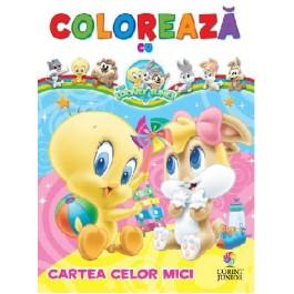 Colorează cu Baby Looney Tunes. Cartea celor mici