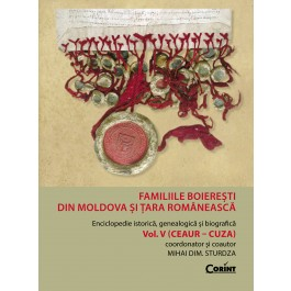 Familiile boierești din Moldova și Țara Românească vol.5 (Ceaur - Cuza)