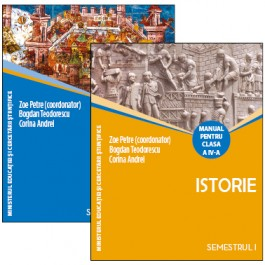 Istorie. Manual pentru clasa a IV-a (sem.I şi al II-lea)