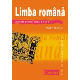 Limba română - Manual pentru clsasa a VIII-a