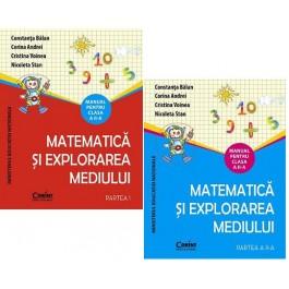 Matematică şi explorarea mediului - Manula pentru clasa a II-a, 2 vol.