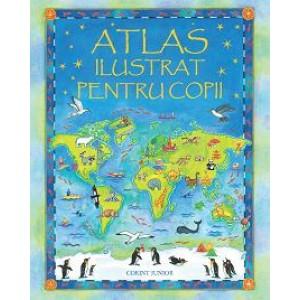 Atlas ilustrat pentru copii (Usborne)