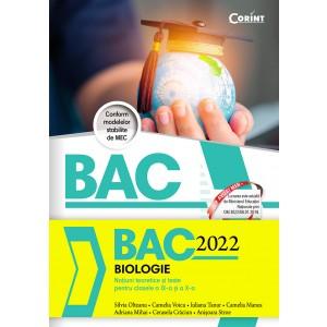 Bacalaureat 2022 - Biologie. Notiuni teoretice si teste pentru clasele a IX-a si a X-a
