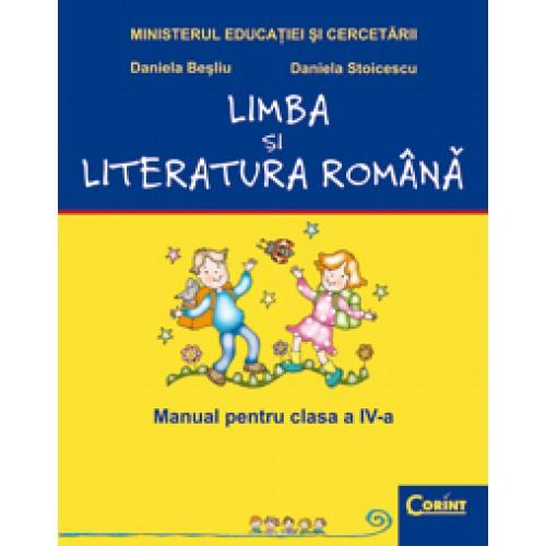 Limba şi literatură română- Manual pentru cls. a IV-a