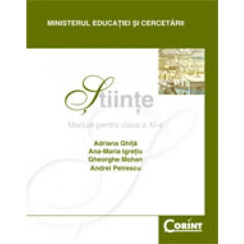 Ştiinţe / Mohan - Manual pentru clasa a XI-a