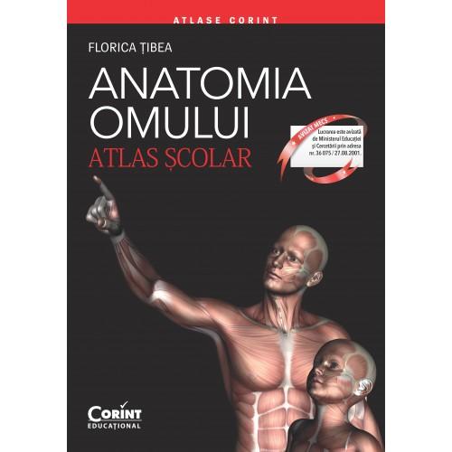 Anatomia omului. Atlas şcolar