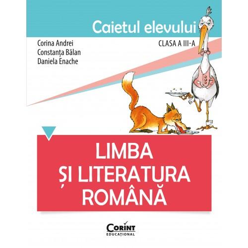 Limba și literatura română. Caietul elevului pentru clasa a III-a