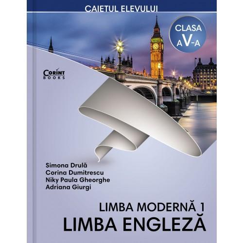 Limba engleză L1 - Caietul elevului pentru clasa a V-a