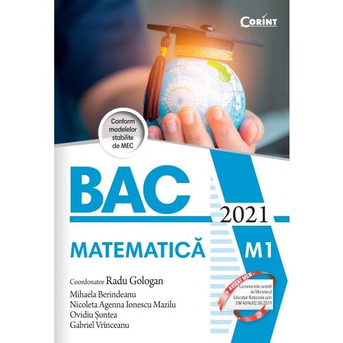 Bacalaureat 2021 - Matematica