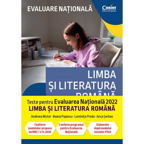 Evaluare nationala 2022. Limba si literatura romana. De la antrenament la performanta