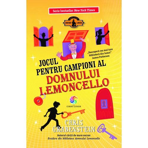 Jocul pentru campioni al domnului Lemoncello (vol.4)