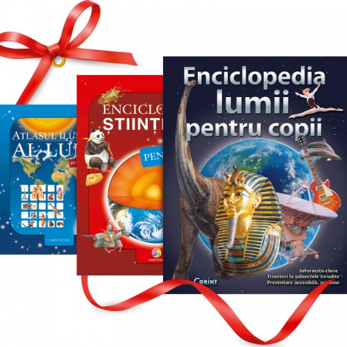 Pachet Enciclopedii (3 cărți)