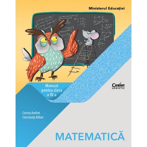 Matematică. Manual pentru clasa a IV-a