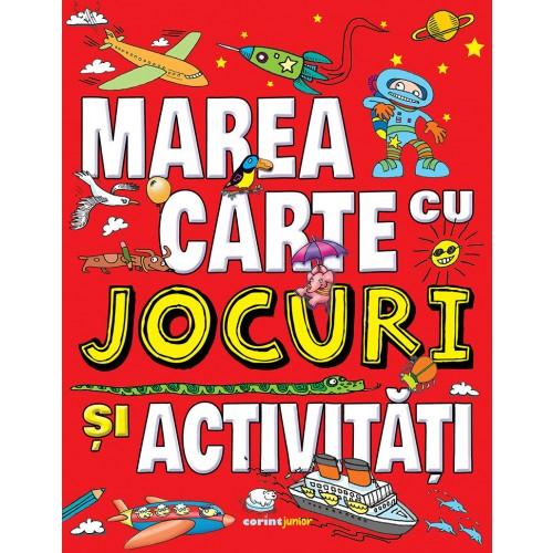 Marea carte cu jocuri și activități