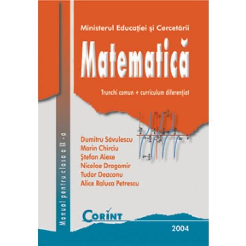 Matematică TC+CD - Manual pentru clasa a IX-a
