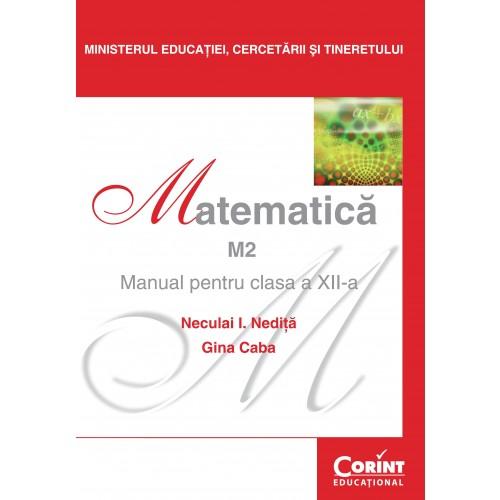 Matematică M2 - Manual pentru clasa a XII-a