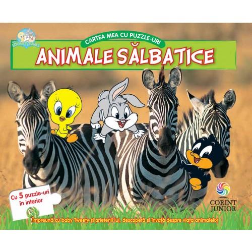 Animale sălbatice. Cartea mea cu puzzle-uri (Baby Looney Tunes)