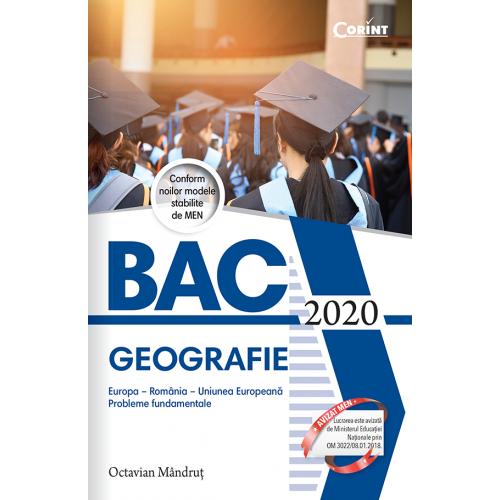 Bacalaureat 2020 - Geografie
