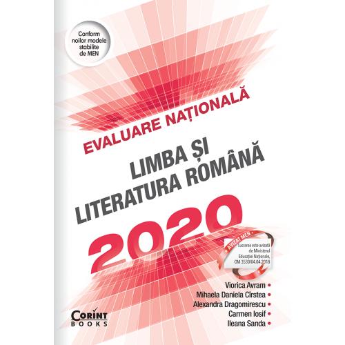 Evaluare nationala 2020. Limba si literatura romana