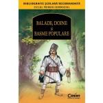 BALADE, DOINE ŞI BASME POPULARE (Bibliografie scolara)