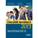 MATEMATICA. EVALUARE NATIONALA 2013