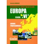 Geografia continentelor - Europa. Manual clasa a VI-a